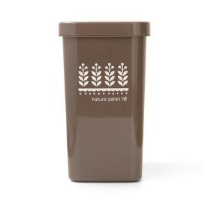 ゴミ箱 ごみ箱 おしゃれ ダストボックス 18L キッチン 分別 ふた付き リビング 蓋付き スリム スライド式 人気 北欧 ペール 角型 雑貨 かわいい|air-r|10