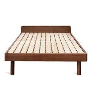 ベッドフレーム セミダブル コンセント スノコベッド すのこベッド 高さ調節 セミダブルベッド 木製 桐すのこベッド フレームのみ 北欧 おしゃれ マットレス無し|air-r|09
