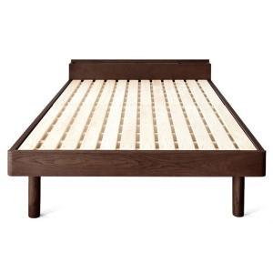 ベッドフレーム セミダブル コンセント スノコベッド すのこベッド 高さ調節 セミダブルベッド 木製 桐すのこベッド フレームのみ 北欧 おしゃれ マットレス無し|air-r|07