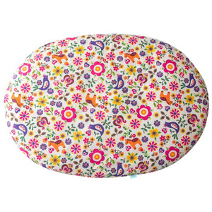 お昼寝マット せんべい 座布団 赤ちゃん 日本製 綿100% 洗える お昼寝クッション リビング おむつ替え ベビークッション ラージサイズ 専用カバー単体販売|air-r|11