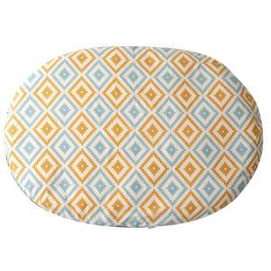 お昼寝マット せんべい 座布団 赤ちゃん 日本製 綿100% 洗える お昼寝クッション リビング おむつ替え ベビークッション ラージサイズ 専用カバー単体販売|air-r|16