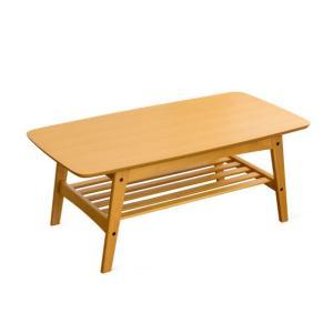 ローテーブル リビングテーブル おしゃれ センターテーブル 木製 北欧 モダン 収納 棚付き ウォールナット ナチュラル ミッドセンチュリー シンプル air-r 10