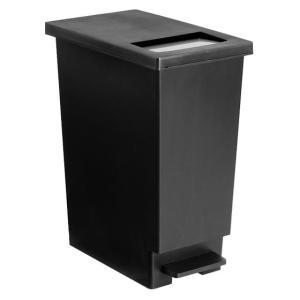 ゴミ箱 おしゃれ キッチン 45リットル 分別 45L ごみ箱 ダストボックス ペダル スリム フタ付き 大容量 大型 角型 シンプル 蓋付きゴミ箱|air-r|06