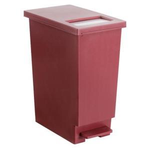 ゴミ箱 おしゃれ キッチン 45リットル 分別 45L ごみ箱 ダストボックス ペダル スリム フタ付き 大容量 大型 角型 シンプル 蓋付きゴミ箱|air-r|08