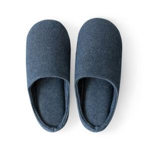 スリッパ おしゃれ 室内 メンズ レディース 来客用 洗える ルームシューズ 室内スリッパ 北欧 室内履き シンプル オールシーズン デニム air-r 14