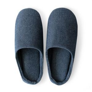 スリッパ おしゃれ 室内 メンズ レディース 来客用 洗える ルームシューズ 室内スリッパ 北欧 室内履き シンプル オールシーズン デニム air-r 15