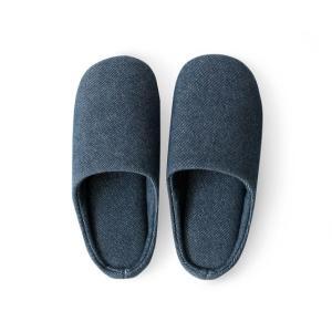 スリッパ おしゃれ 室内 メンズ レディース 来客用 洗える ルームシューズ 室内スリッパ 北欧 室内履き シンプル オールシーズン デニム air-r 13