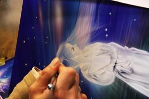 エアブラシ専用塗料使用例