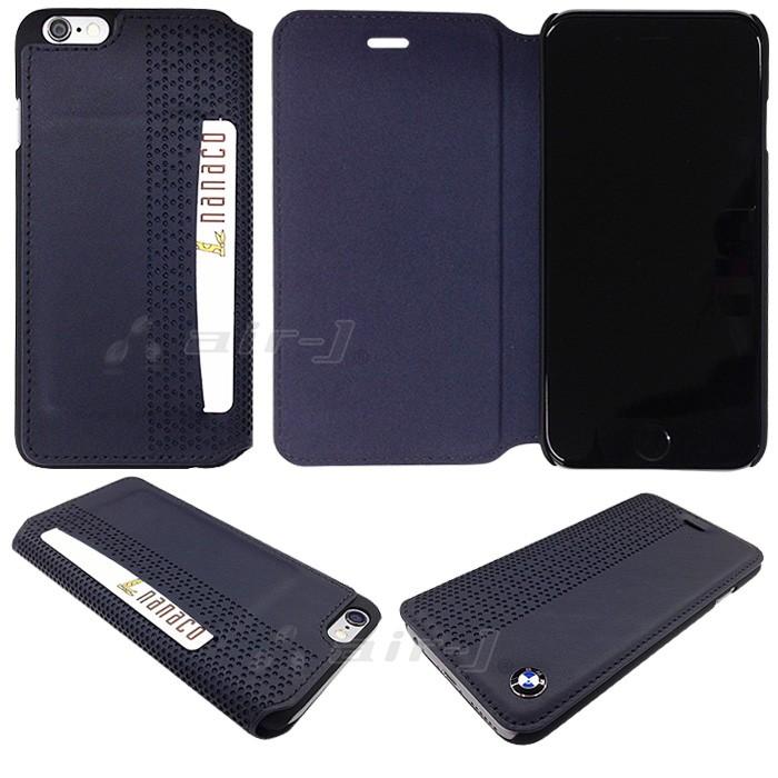 58f68f1a62 SALE BMW 公式ライセンス品 iPhone6plus 6sPlusケース 手帳型 本革 アイフォン6sプラスケース iPhone6plus  スマホ レザー ブラック ブランド /【Buyee】