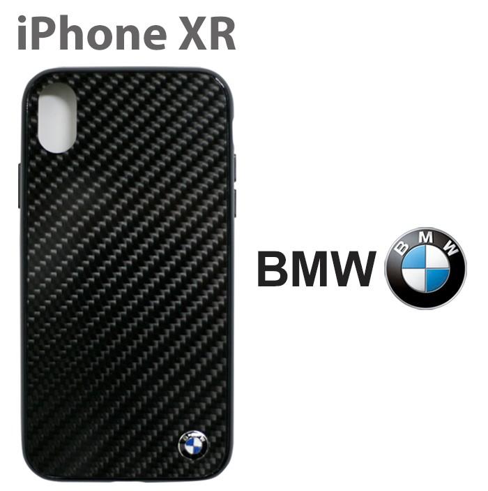 BMW iPhoneXR専用 リアルカーボン ハードケース