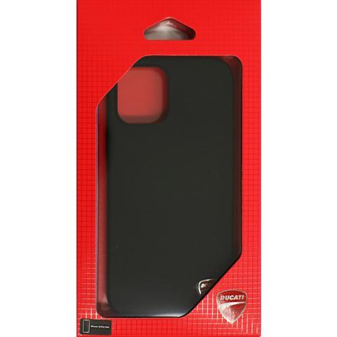 Ducati 公式ライセンス品 iPhone12ProMax シリコン ハードケース ブラック レッド ドゥカティ 背面ケース バックカバー【送料無料】|airs|09