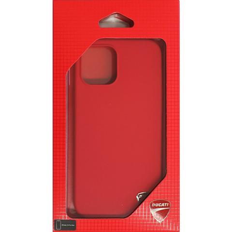 Ducati 公式ライセンス品 iPhone12ProMax シリコン ハードケース ブラック レッド ドゥカティ 背面ケース バックカバー【送料無料】|airs|10