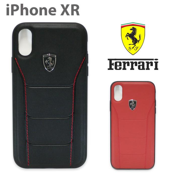 フェラーリ・公式ライセンス品 iPhoneXケース アイフォンXR