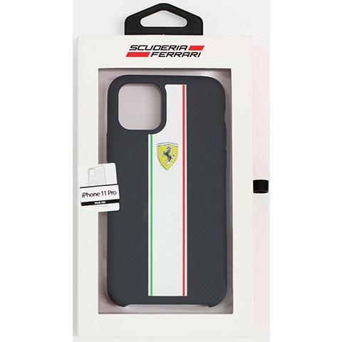 Ferrari フェラーリ 公式ライセンス品 iPhone11Pro iPhone11 iPhone11ProMax シリコン 背面ケース バックカバー ブランド|airs|11