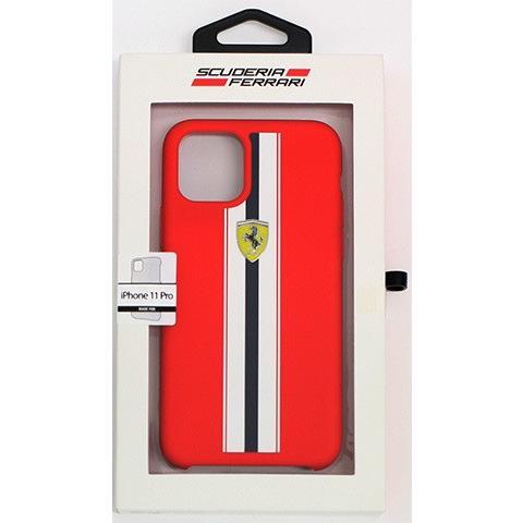 Ferrari フェラーリ 公式ライセンス品 iPhone11Pro iPhone11 iPhone11ProMax シリコン 背面ケース バックカバー ブランド|airs|10