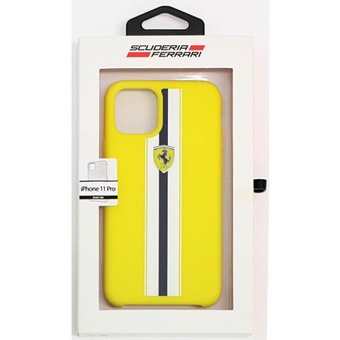 Ferrari フェラーリ 公式ライセンス品 iPhone11Pro iPhone11 iPhone11ProMax シリコン 背面ケース バックカバー ブランド|airs|12