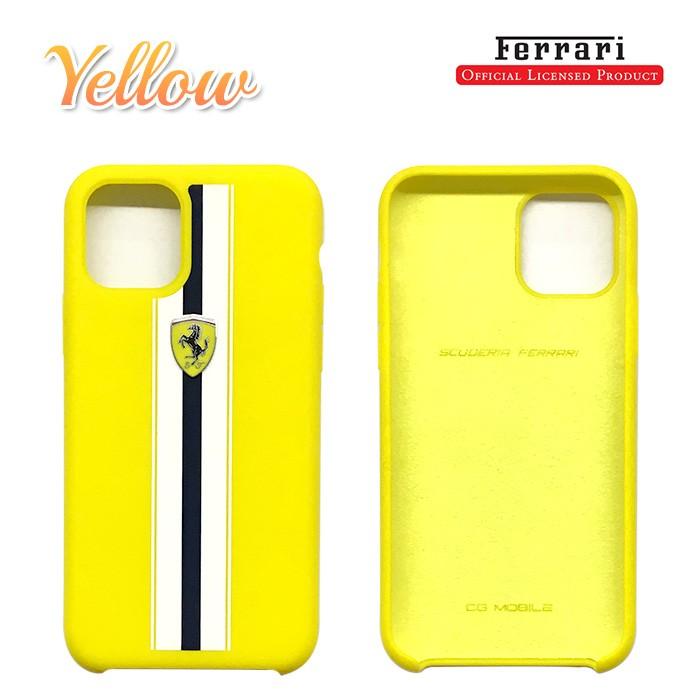 フェラーリ・公式ライセンスiPhone11 Pro、iPhone11、iPhone11 ProMaxシリコンハードケース