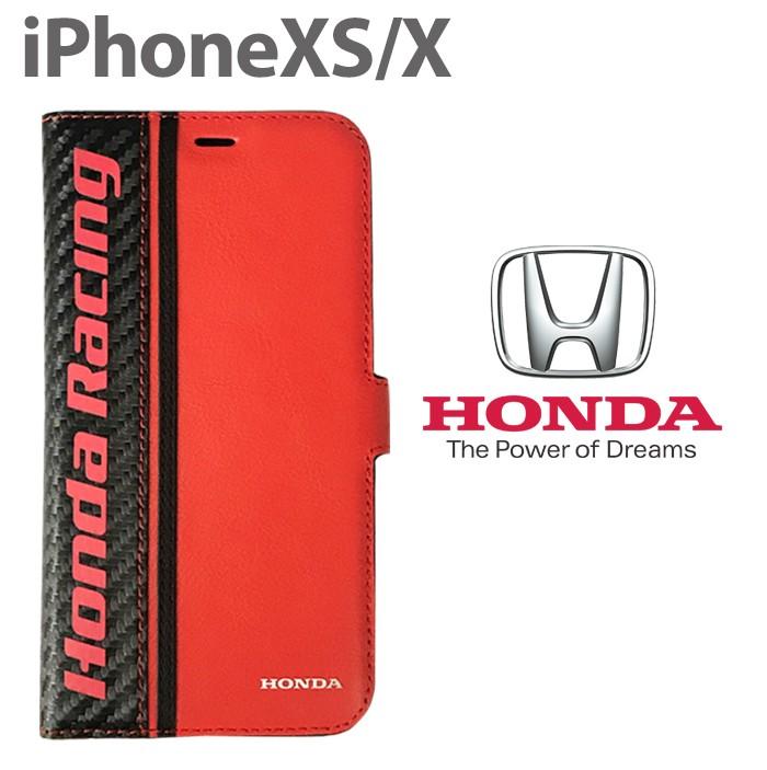 ホンダ Honda 公式ライセンス品 iPhoneXS iPhoneX ケース 手帳型ケース