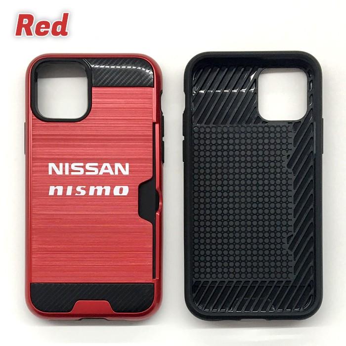 日産 公式ライセンス NISMO ニスモ iPhone11Pro iPhone11 耐衝撃 バックカバー