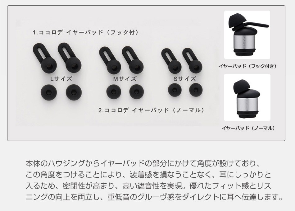 cocorode(ココロデ) 完全ワイヤレスイヤホン AAC対応 Bluetooth