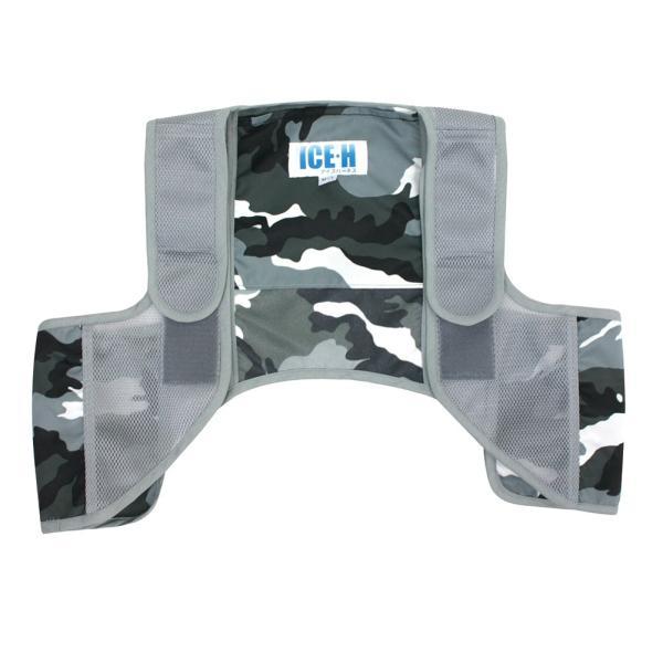 暑さ対策 熱中症対策グッズ クールベスト 冷却ベスト アイスハーネス 保冷剤6個付き|akagi-aaa|21