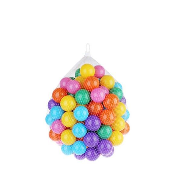 カラーボール 5.5cmx150個 7cmx100個 星型・ハート型x150個 ボールプール ハウス プール 収納袋付き pa084|akaneashop|14