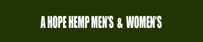 A HOPE HEMP MEN'S&WOMEN'S