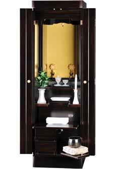 家具調仏壇 ガルボ(黒檀)のサムネイル3