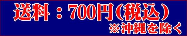 送料:沖縄を除き700円