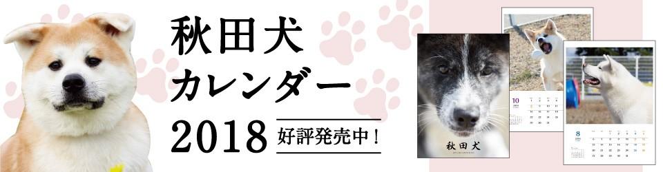 秋田犬カレンダー