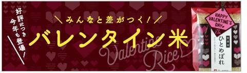 2017バレンタイン米