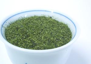 茶葉:フワッとした粉茶
