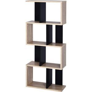 本棚 書棚 ディスプレイラック 4段 オープンラック|alberoshop|23