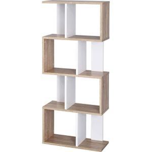 本棚 書棚 ディスプレイラック 4段 オープンラック|alberoshop|22