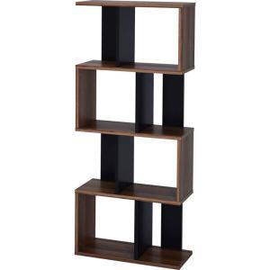 本棚 書棚 ディスプレイラック 4段 オープンラック|alberoshop|24