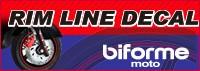 あるふぁここプラザ店  バイク用品 リムスラインデカール RIM LINE DECAL