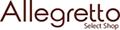 アレグレット 手袋 マフラー 財布 ロゴ