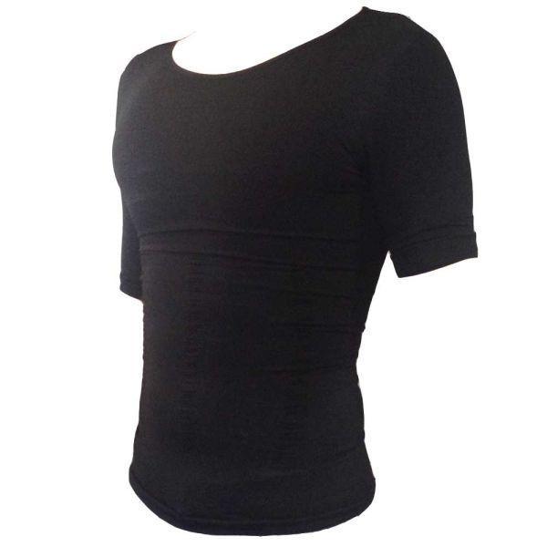 加圧シャツ メンズ 半袖 加圧インナー 猫背 姿勢強制 補正下着 腹筋 トレーニング スーツ 筋トレ alife 08