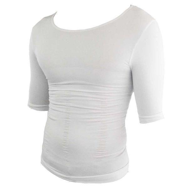 加圧シャツ メンズ 半袖 加圧インナー 猫背 姿勢強制 補正下着 腹筋 トレーニング スーツ 筋トレ alife 07