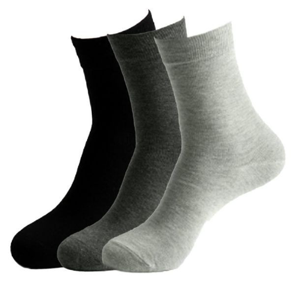 無地ソックス 3足セット カジュアルソックス 3足組 クルー丈 靴下 ユニセックス 男女兼用 メンズ レディース 送料無料|alife|05