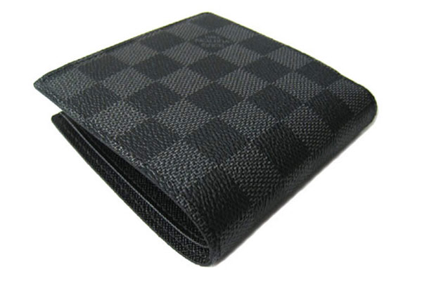 new product a1d0c 00b86 LOUIS VUITTON ルイ・ヴィトン ダミエ・グラフィット 二つ折り財布 メンズ ポルトフォイユ・マルコ NM LV N62664