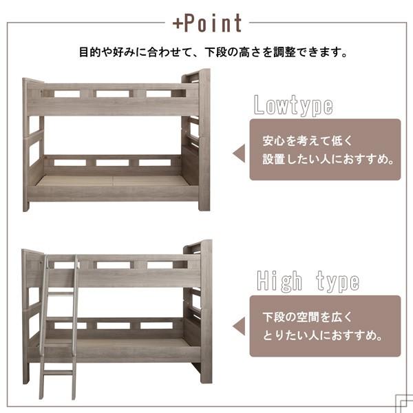 2段ベッド 2段ベッド マットレス付き 薄型軽量ポケットコイル