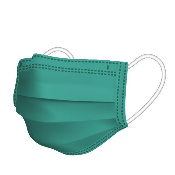 【1枚15円】不織布カラーマスク 1枚ずつ個別包装 カラーが選べる ふつうサイズ 使い捨て 平ゴム 3層不織布 花粉 風邪 PM2.5 ウイルス飛沫対策|allone-shop|13