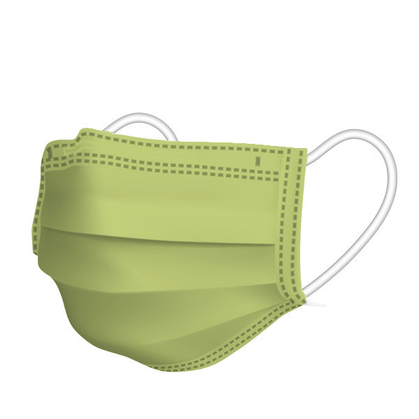 【1枚15円】不織布カラーマスク 1枚ずつ個別包装 カラーが選べる ふつうサイズ 使い捨て 平ゴム 3層不織布 花粉 風邪 PM2.5 ウイルス飛沫対策|allone-shop|25