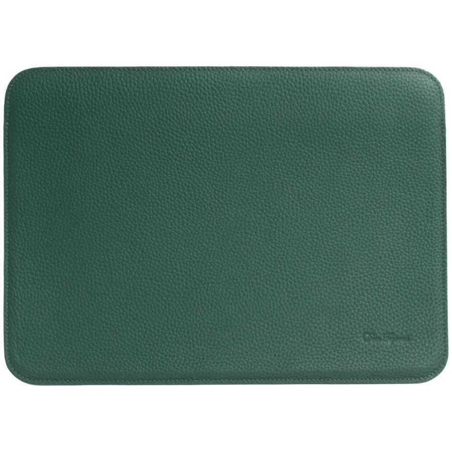 牛革 macbook pro 13 ケース ノートパソコン ケース 13.3 inch インナー ケース レザー カバー マウスパッド 送料無料|allrightleather|17