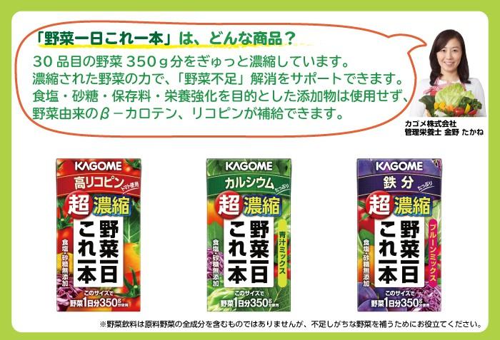 カゴメ野菜ジュースダイエット2
