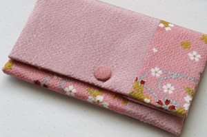 夢乃 数珠袋 ピンク