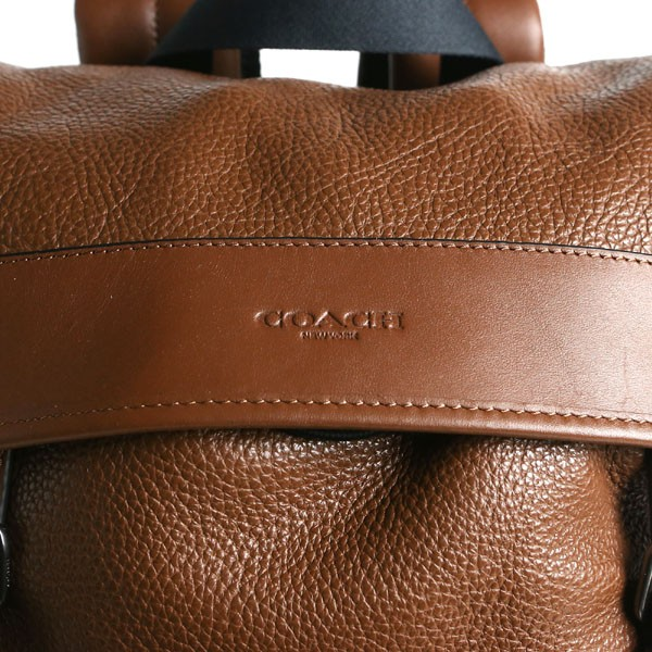 5d9967843d55 【商品名】, COACH OUTLET コーチ アウトレット. HENRY BACKPACK IN PEBBLE LEATHER ぺブルレザー  リュックサック バックパック. F72311-CWH