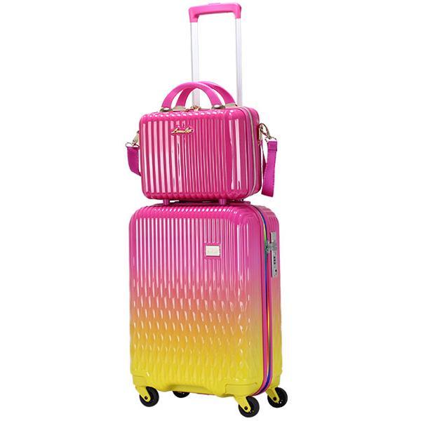 スーツケース Mサイズ キャリーバッグ キャリーケース ミニトランク付 レディース ショルダーバッグ 1年保証付 シフレ ルナルクス LUNALUX LUN2116 55cm|amakusakaban|22