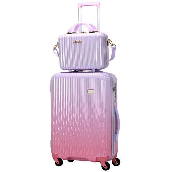 スーツケース Mサイズ キャリーバッグ キャリーケース ミニトランク付 レディース ショルダーバッグ 1年保証付 シフレ ルナルクス LUNALUX LUN2116 55cm|amakusakaban|23